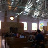 Photo taken at Paróquia Bom Jesus das Oliveiras by Agnustody F. on 3/18/2012
