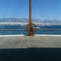 Photo taken at Yacht Club of Greece by Niki on 6/20/2012