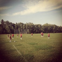 Photo taken at Taxandria Soccer Fields by Chris V. on 8/26/2012