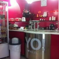 Photo taken at YO! yogurteria by Paola F. on 6/22/2012