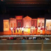 Photo taken at Teatro Madre Esperança Garrido by Monise P. on 6/25/2012