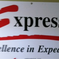Photo taken at Express-1 Warehouse by Martie R. on 3/5/2012