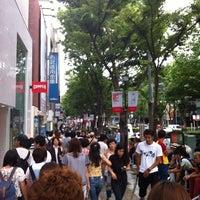 Photo taken at Meiji-jingumae 'Harajuku' Station by Ikebu-kuro on 9/1/2012