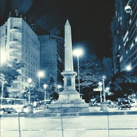 Photo taken at Praça Sete de Setembro (Praça 7) by Vinicius R. on 6/1/2012
