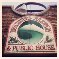 Photo taken at Deschutes Brewery Bend Public House by Morgin S. on 5/3/2012