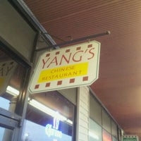 Photo taken at Yang's Chinese Restaurant by Adam J. on 3/28/2012