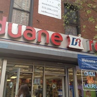 Duane Reade Pharmacy In New York