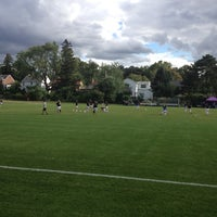 Photo taken at St Kate's Soccer Field by Phil A. on 9/7/2012
