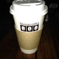 Photo taken at Terracotta Café by Cris H. on 3/14/2012