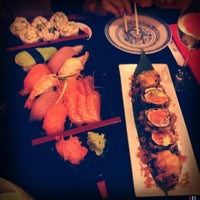 Photo taken at Takumi Japanese Diner by Andrea K. on 5/19/2012