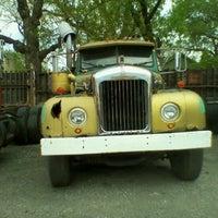 Photo taken at Tramell trucking yard by Michael J. W. on 4/18/2012