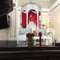 Photo taken at Igreja Santo Antônio by Jose Luiz S. on 5/13/2012
