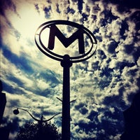 Photo taken at Métro Bastille [1,5,8] by Chris B. on 8/12/2012
