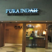 Photo taken at PURA INDAH First & Business Class Lounge by Christma S. on 9/10/2012