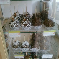 Photo taken at Rocky Mountain Chocolate Factory by KCSnowbunny on 5/12/2012