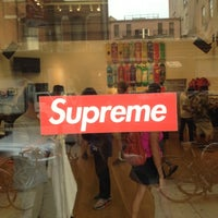 Photo taken at Supreme NY by ANDRO N. on 8/3/2012