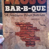 Photo taken at MOJO Bar B Que, A Southern Blues Kitchen by Jeff K. on 7/7/2012