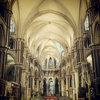 Photo taken at Canterbury Cathedral by Ryan on 4/9/2012