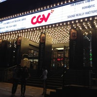 Photo taken at CGV Cheongdam Cinecity by Astin M. K. on 5/2/2012