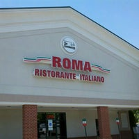 Photo taken at Roma Ristorante Italiano by Donald W. on 6/8/2012