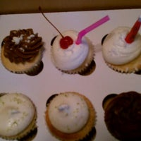 Photo taken at The Sweet Tooth - Cupcakery and Dessert Shop by Robin S. on 6/15/2012