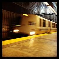 Photo taken at South San Francisco BART Station by Sean B. on 6/14/2012