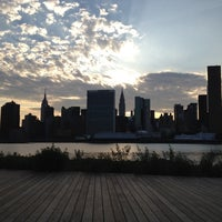 Photo taken at Gantry Plaza State Park by Christopher S. on 7/22/2012