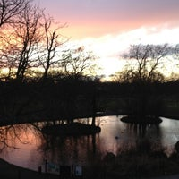 Photo taken at Wandsworth Common by Olly W. on 2/18/2012