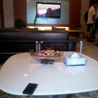 Photo taken at Star Alliance First Class Lounge by John Y. on 6/22/2012