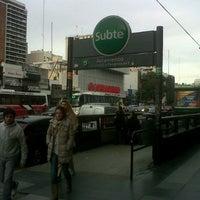 Photo taken at Av. Cabildo y Av. Juramento by Lautaro S. on 7/15/2012