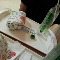 Photo taken at Subway by Mattheus A. on 6/9/2012