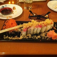 Photo taken at Seafront Sushi by Ashley S. on 7/22/2012