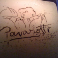 Photo taken at Pavarotti by Pablo D. on 3/6/2012