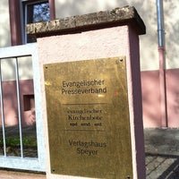 Photo taken at Verlagshaus Speyer by Alexander E. on 4/25/2012