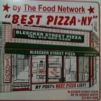 Photo taken at Bleecker Street Pizza by CJ U. on 4/15/2012