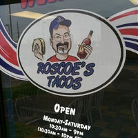 Photo taken at Roscoe's Tacos by Dave B. on 3/30/2012