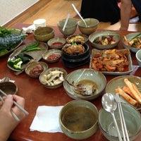 Photo taken at 해송쌈밥 by Il-Koo K. on 6/29/2012