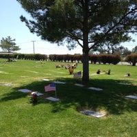 Photo taken at Holy Sepulchur Cemetery by Ofelia G. on 6/2/2012
