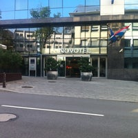 Photo taken at Novotel Luxembourg Centre by nabil k. on 7/25/2012