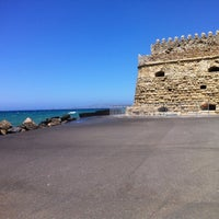 Photo taken at Port of Heraklion by Andry🔋 K. on 6/6/2012
