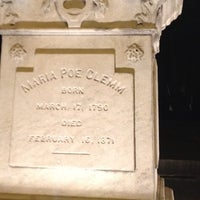 Photo taken at Grave of Edgar Allan Poe by krissy m. on 6/17/2012