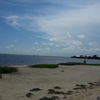 Photo taken at Shell Point Beach by Rachel L. on 7/10/2012