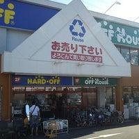 Photo taken at ハードオフ/オフハウス 小金井店 by takoyaki on 5/12/2012