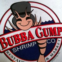 Photo taken at Bubba Gump Shrimp Co. by Deano Erawan A. on 4/8/2012