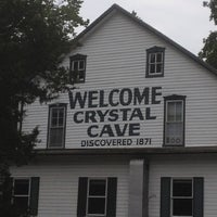 Photo taken at Crystal Cave by Russ M. on 7/13/2012