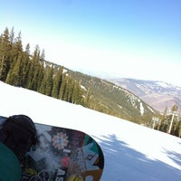 Photo taken at Top Of Highline Lift by James B. on 4/9/2012