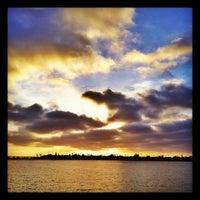 Photo taken at Fiesta Island by Emil B. on 5/12/2012