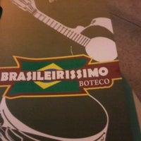Photo taken at Brasileirissimo Boteco by Fabricio V. on 6/1/2012