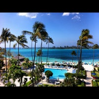 Photo taken at British Colonial Hilton by Patrick F. on 4/22/2012