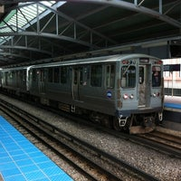 Photo taken at CTA - Davis by Jonathan A. on 9/2/2012